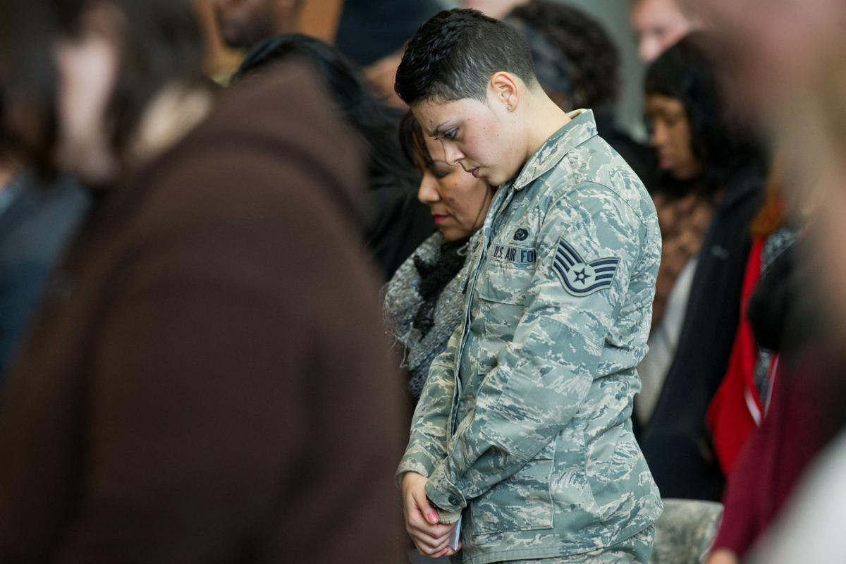 155th Air Refueling Wing send-off