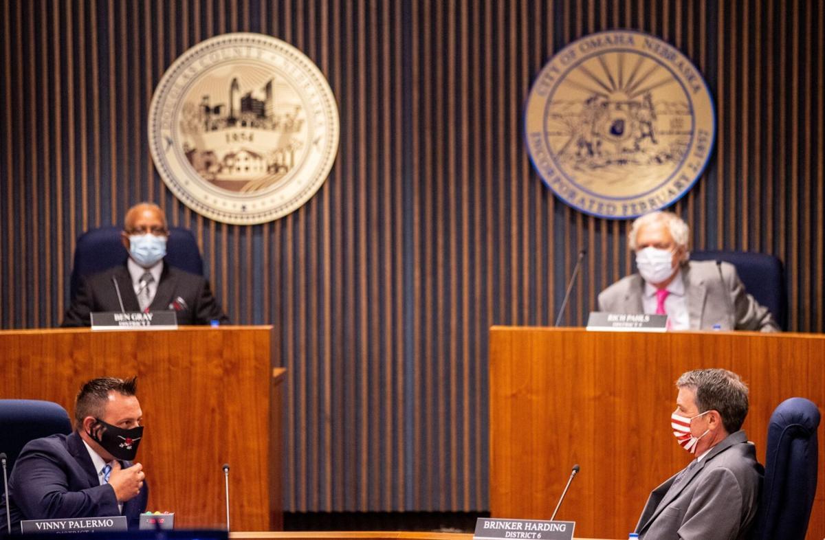 Masks at the meeting