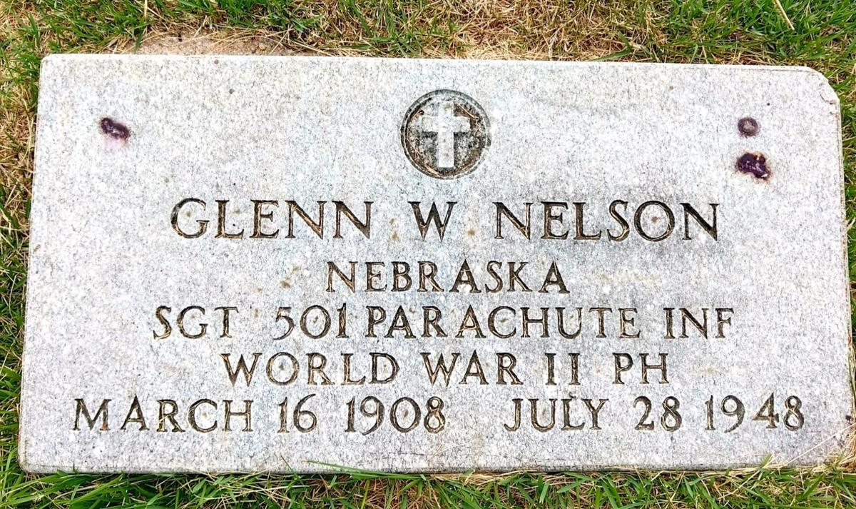 Glenn Nelson's grave