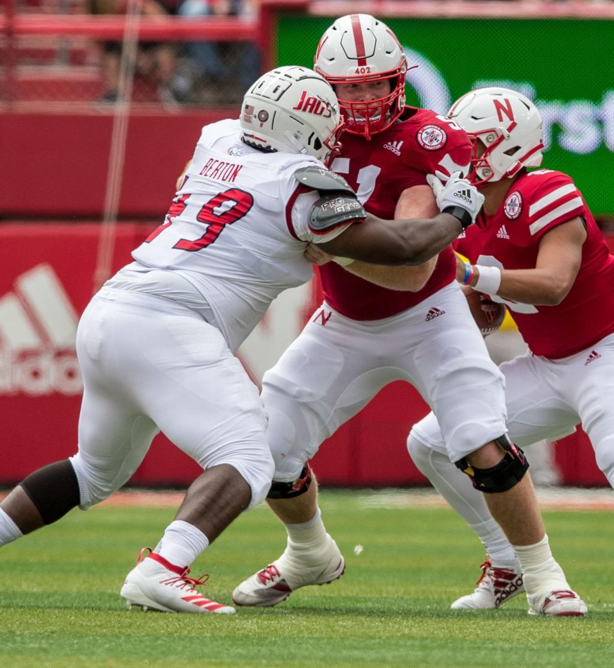 Oh, snap: Nebraska's offensive line looking to improve after shaky game one