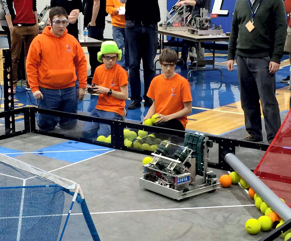Gross Catholic hosts robotics challenge
