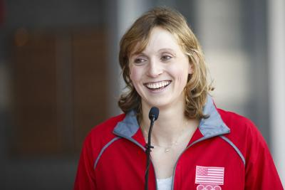 Katie Ledecky looks forward to another family reunion in Omaha