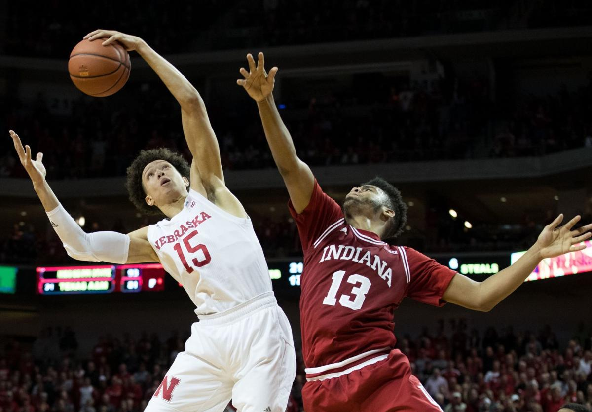 Nebraska basketball defeats Indiana, ties program record ...