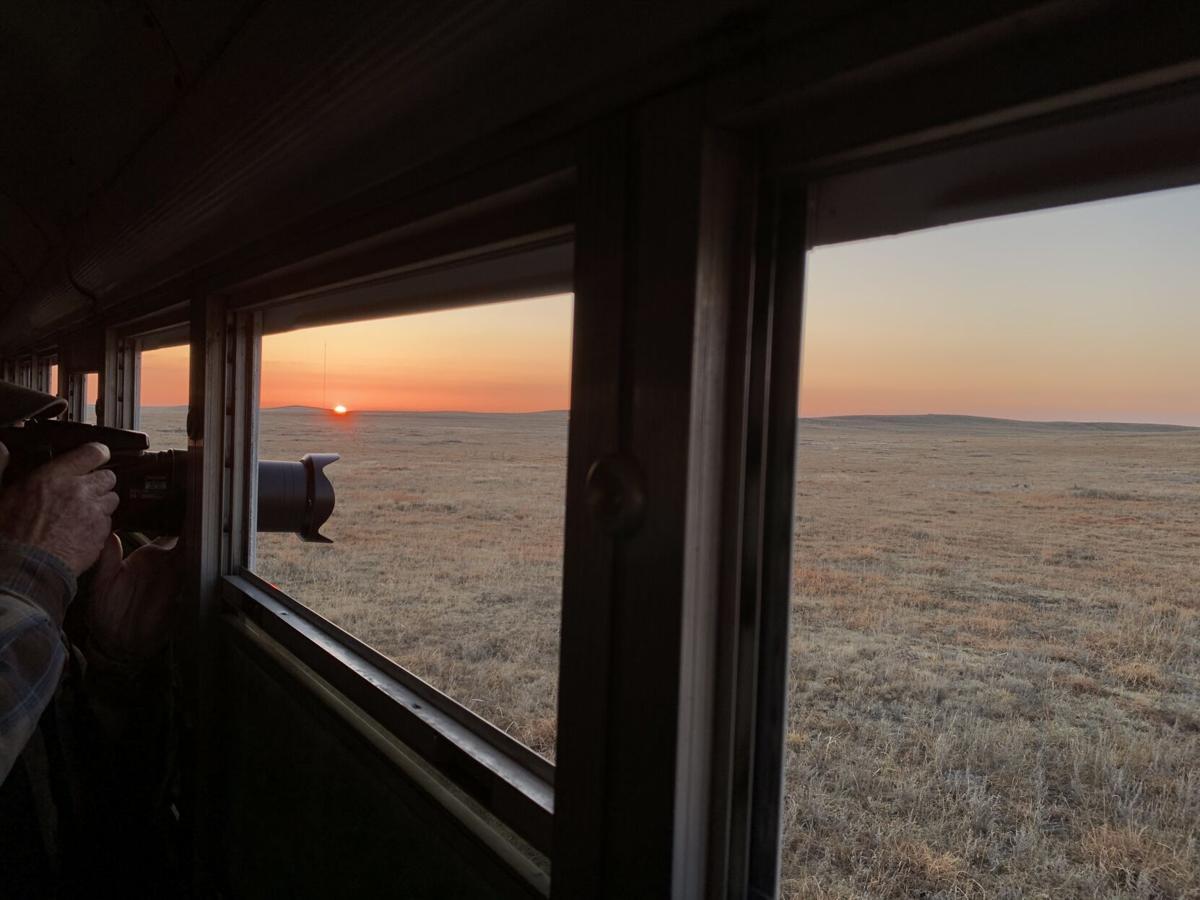 Sunrise from the bus blind.jpg