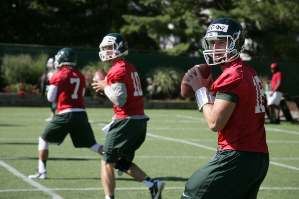 Barfknecht: Quarterback races heat up, with some starters emerging
