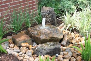 Outdoor Inspirations | Landscaping | Mulch | Omaha | Bubbling Rock