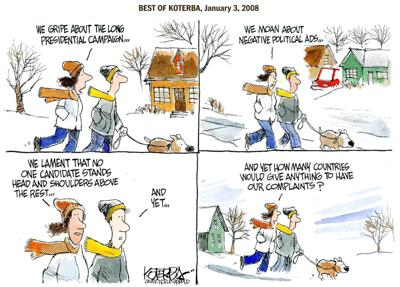 Best of Jeff Koterba's cartoons: We're still a fortunate country