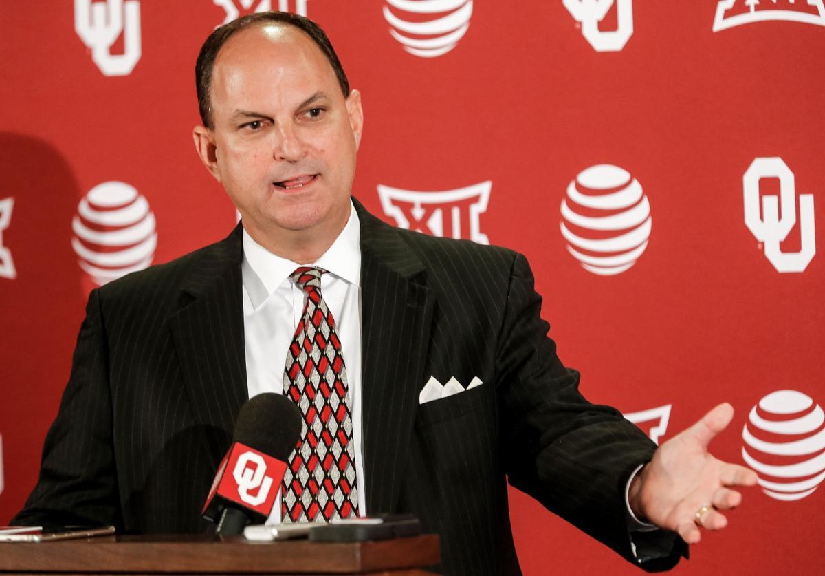Oklahoma Athletic Director Joe Castiglione