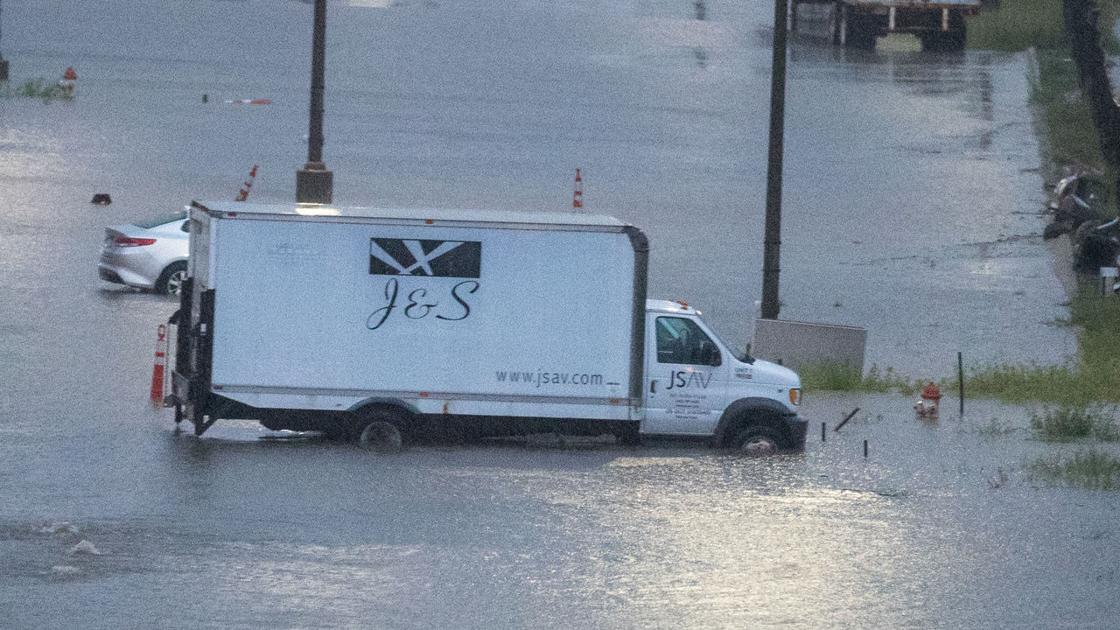 Storm dumps 2 to 4-plus inches of rain in eastern Nebraska
