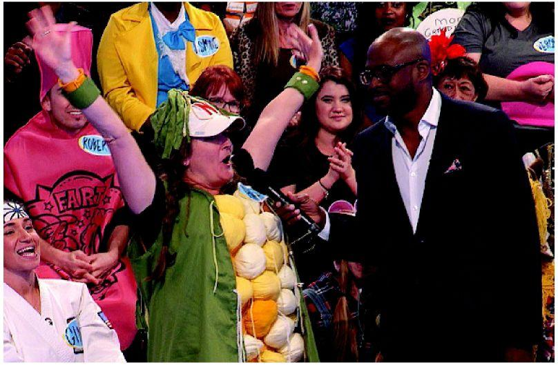 Kearney teacher – dressed in corn costume and hyped up on coffee – is picked on game show