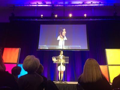 CNN host Lisa Ling in Omaha