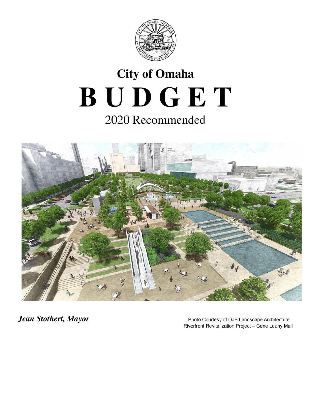 Omaha 2020 recommended budget