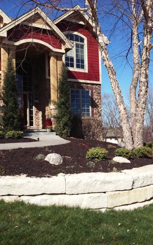 Outdoor Inspirations | Landscaping | Mulch | Omaha | Landscaping Wall
