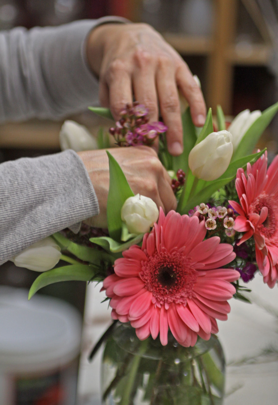 Florist talks about busiest time of year