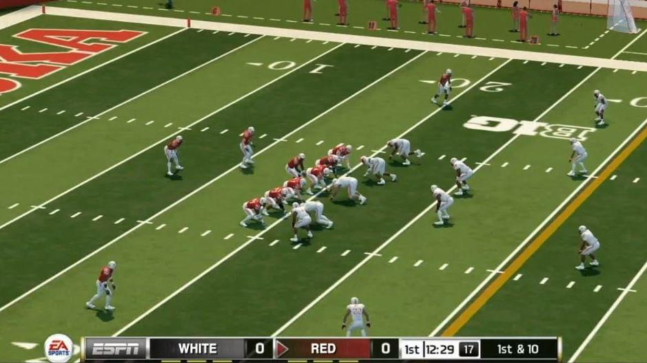 Nebraska is one of 10 college teams you can play as in Madden 21