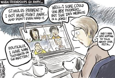 Jeff Koterba's latest cartoon: But what about the pets?
