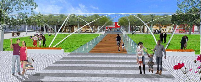 Hotel, public park, new stores part of Crossroads redevelopment plan