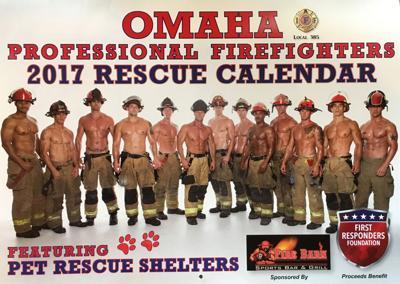 Firefighter 2017 calendar