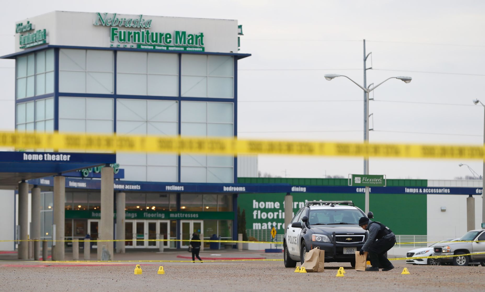 Nebraska Furniture Mart Parking Lot Shooting