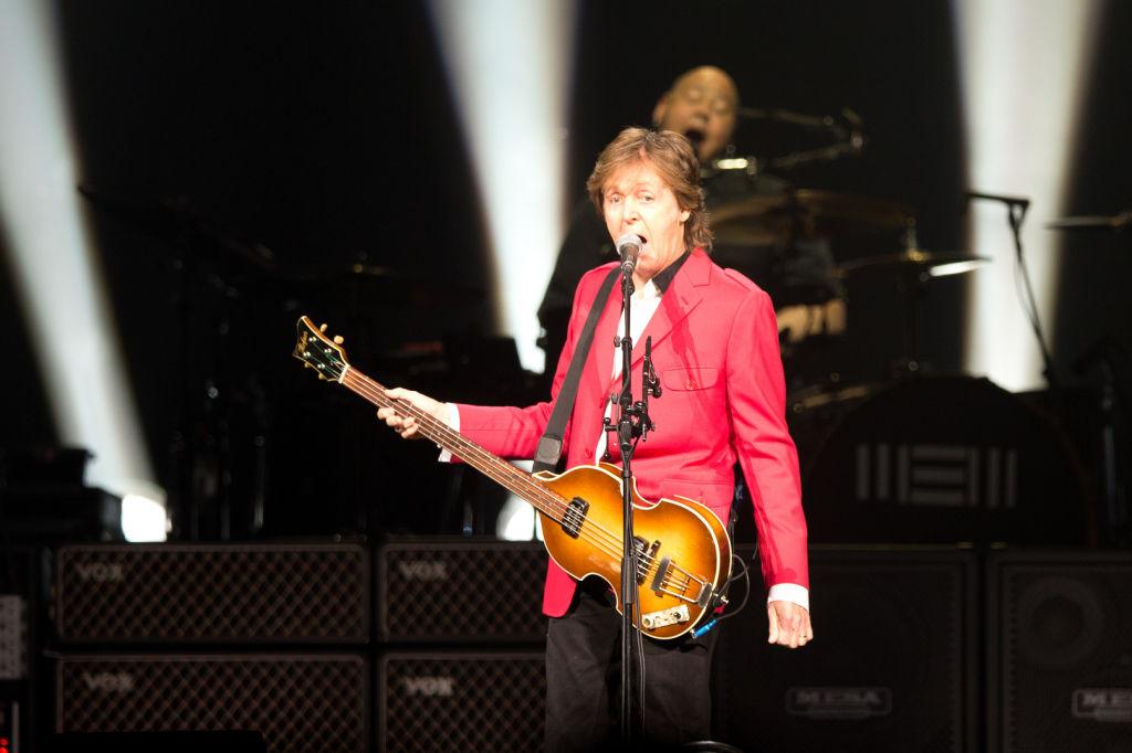 Paul McCartney Performs At Pinnacle Bank Arena 2014