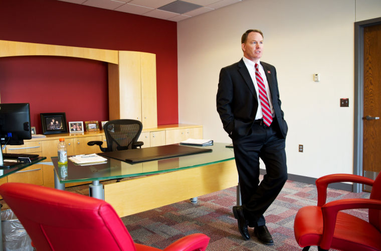 Law, business background helped NU's A.D. launch career