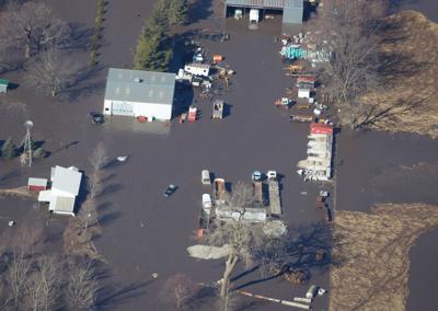 Elkhorn River aerial