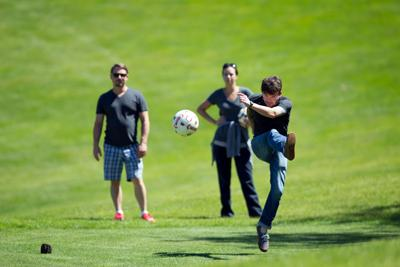 Soccer is coming to the fore Some area golf courses are getting in on the fun, hosting the hybrid of the two sports