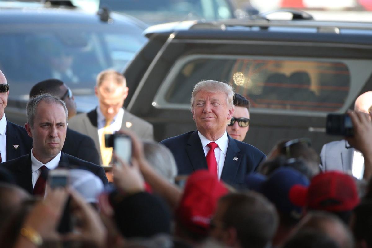 Trump rally -- Trump