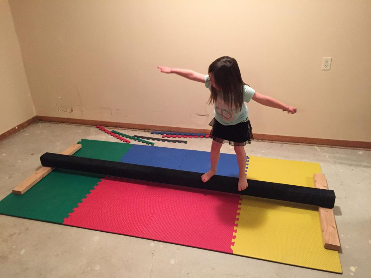 Dad tackles home gymnastics project, gets unexpected result: family memories | Momaha.com | omaha.com