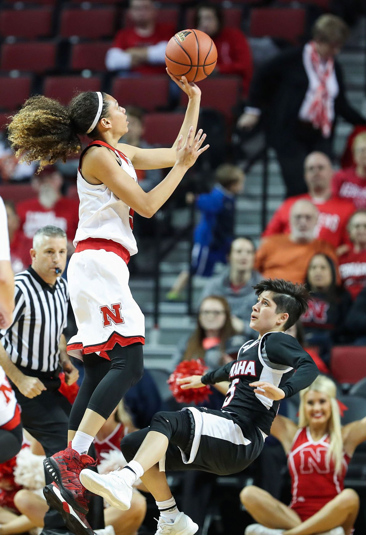 Photos: Nebraska women's basketball defeats UNO | Gallery ...