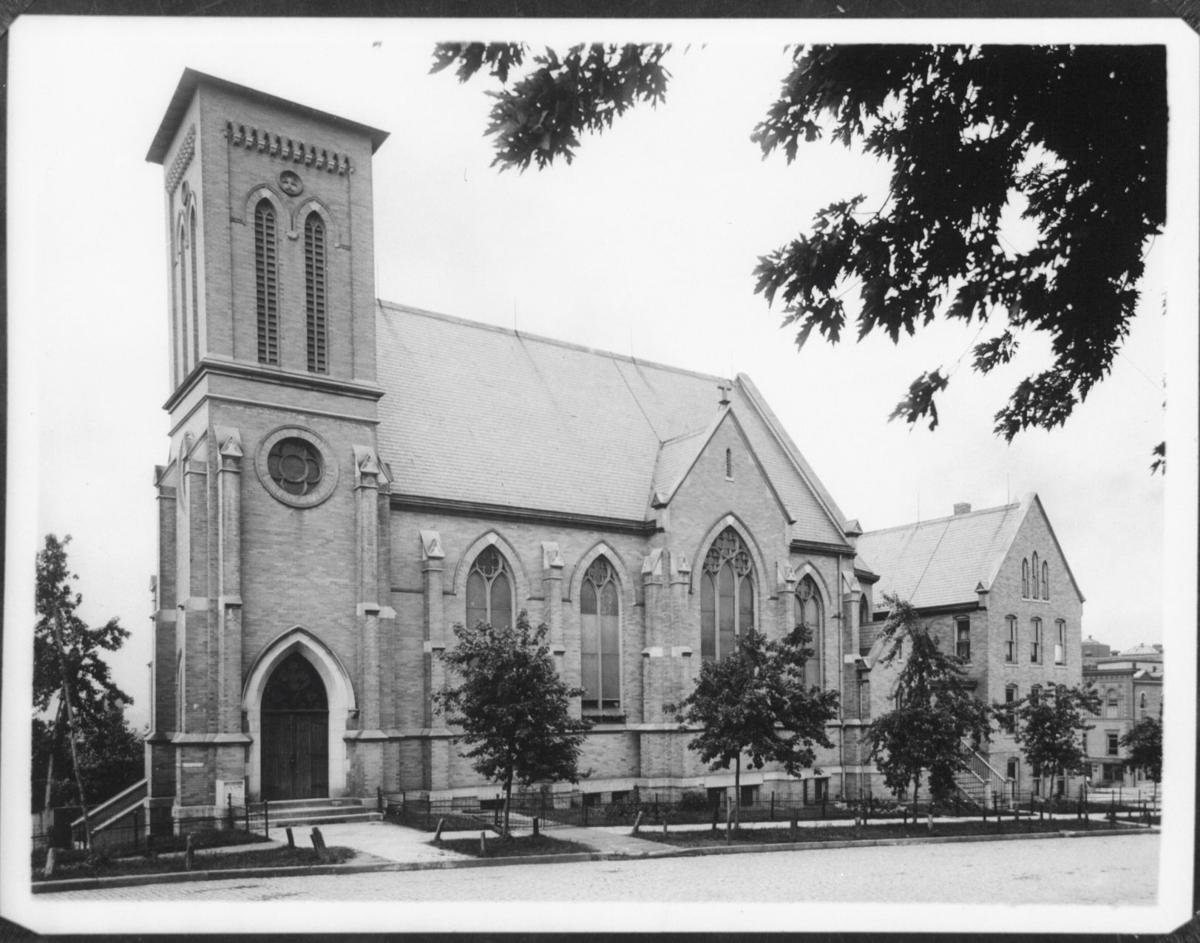 St. Mary Magdalene Church in 1908