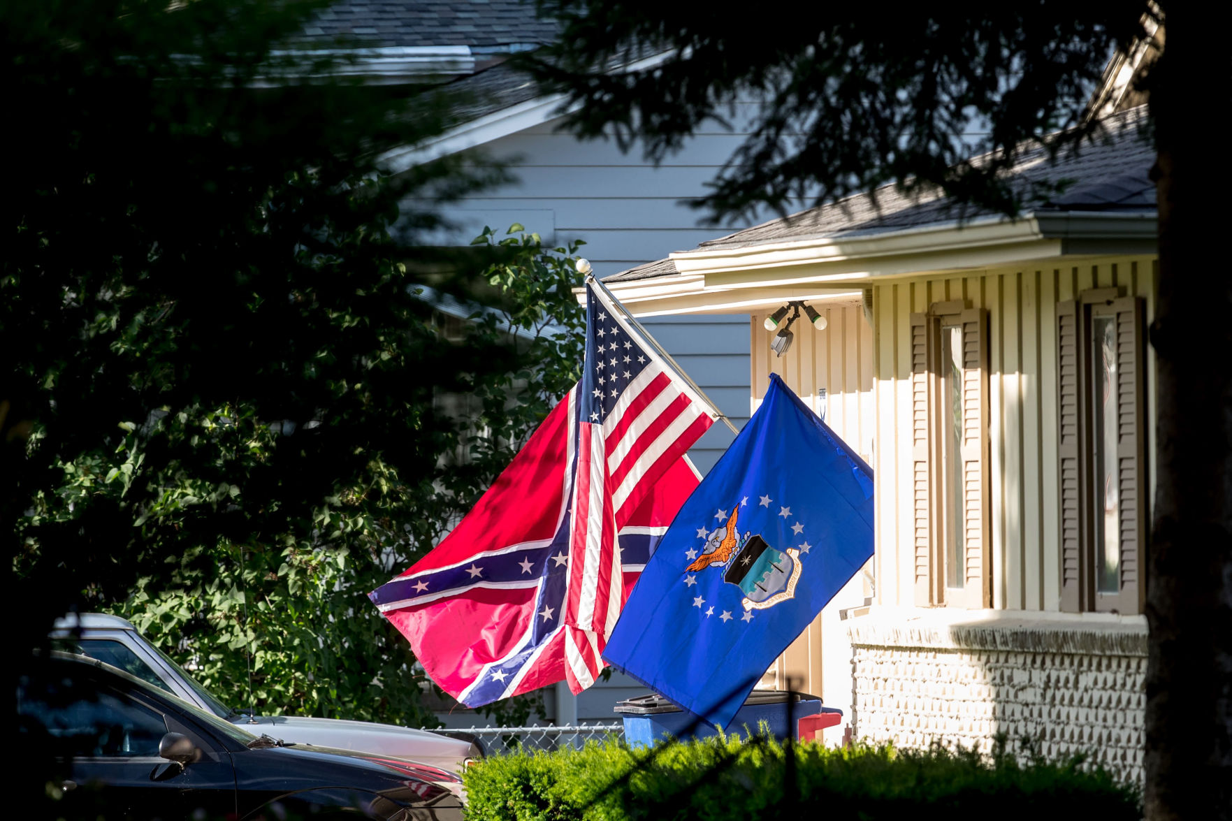 Us Area Code History%0A The Public Pulse  Flying the Confederate flag disrespects the American flag
