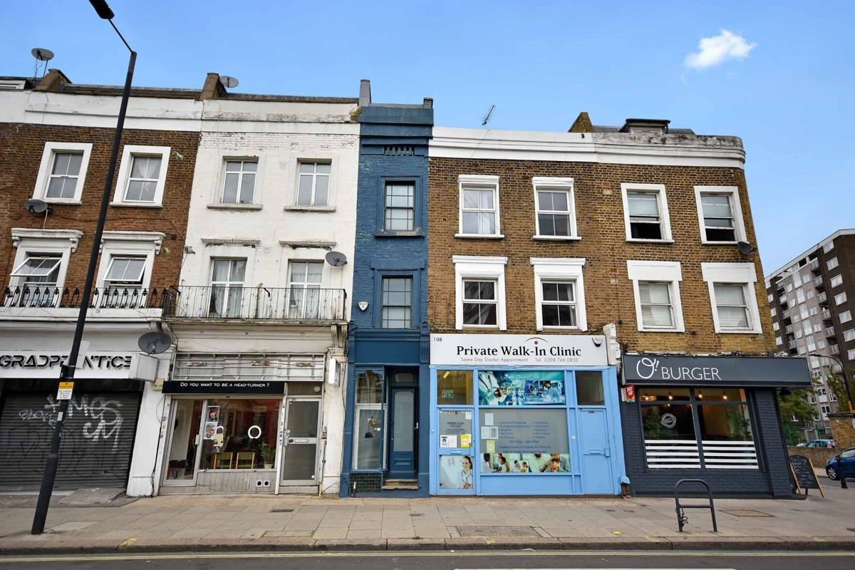 Just six feet wide, 'London's skinniest house' is for sale for $1.3 million