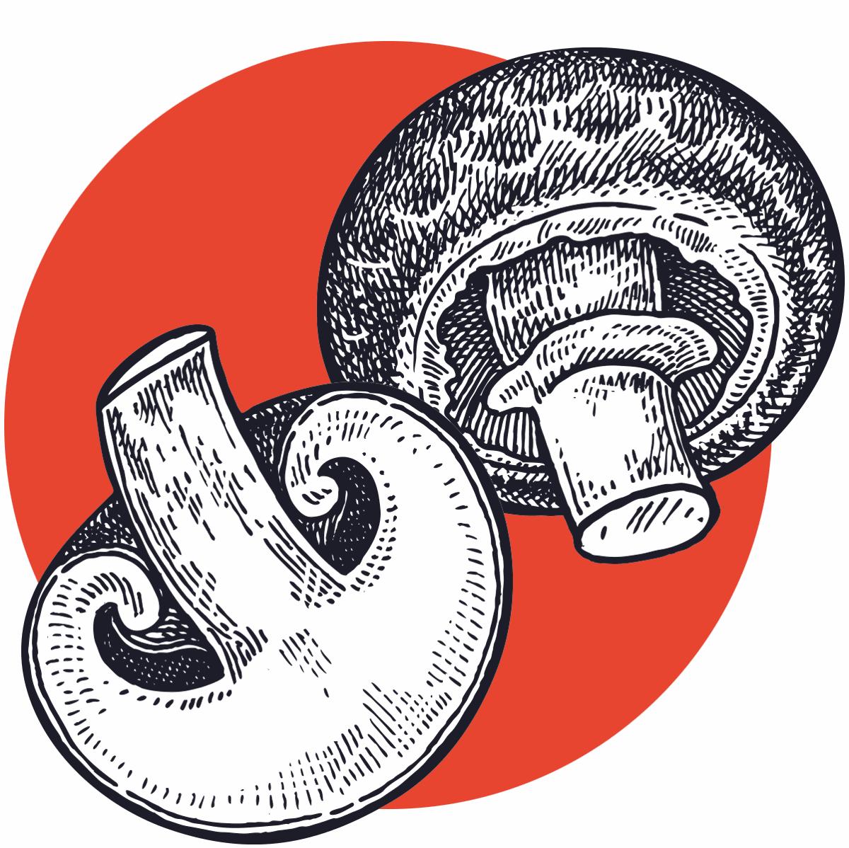 Cremini mushroom