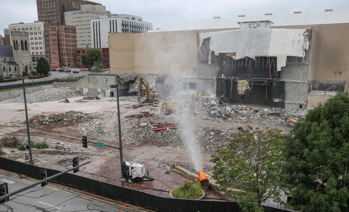 Civic Auditorium demolition
