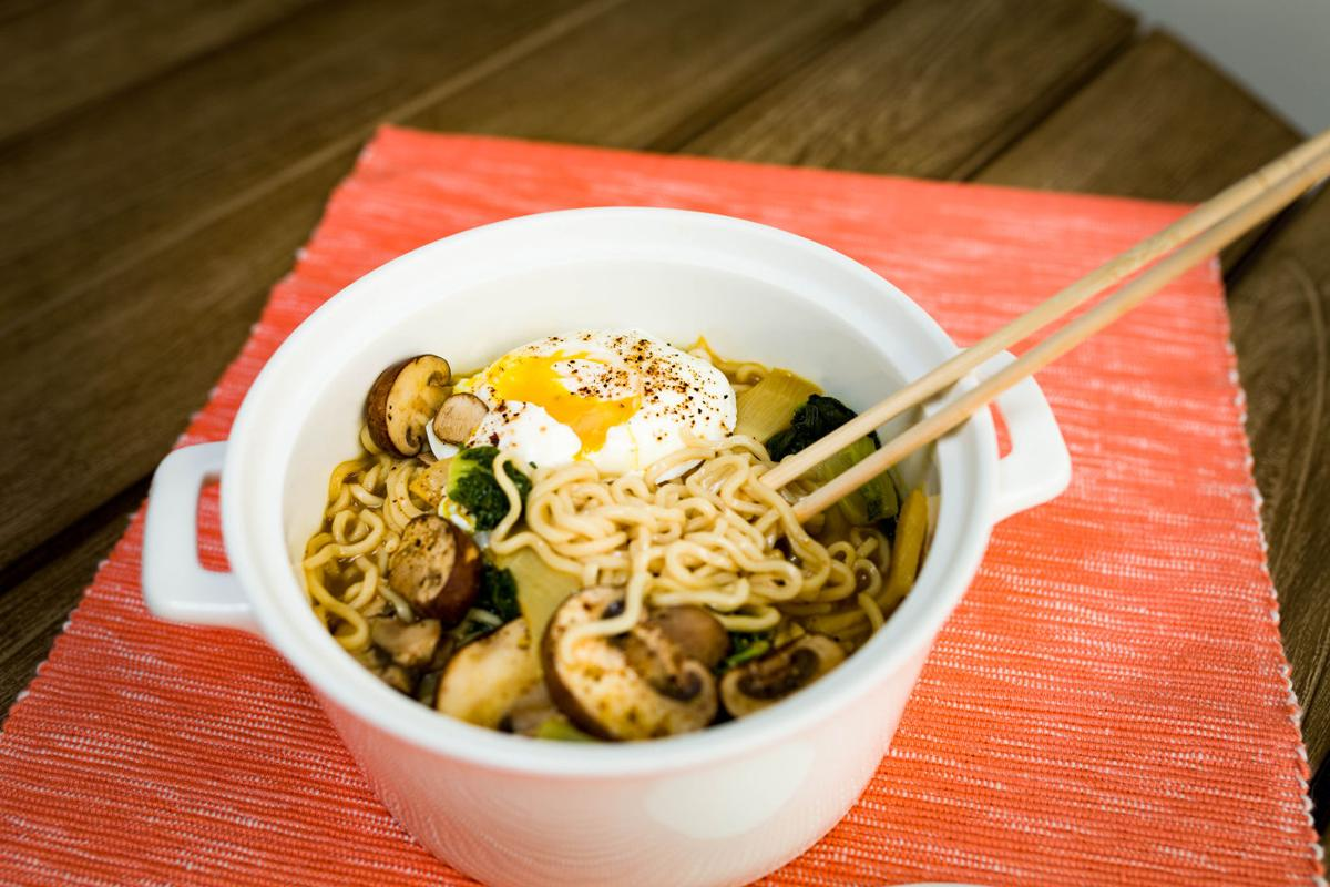 Ramen and Poached Eggs