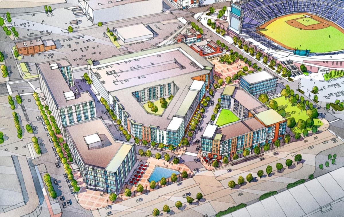 Omaha Civic Leaders Plan 125 Million Mixed Use Development On Lot Across From Centurylink
