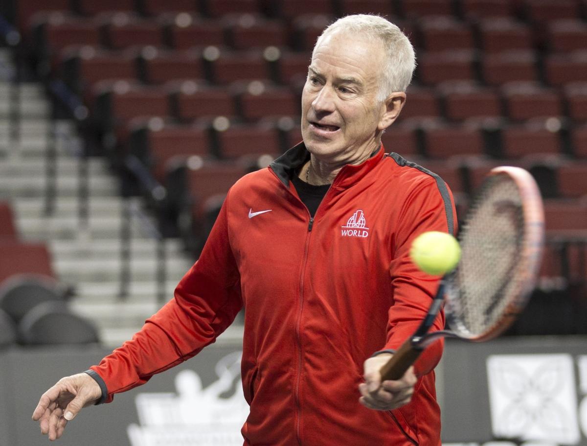 s Power s Series brings Andy Roddick John McEnroe and