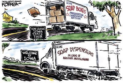Jeff Koterba's latest cartoon: Cleanup crew