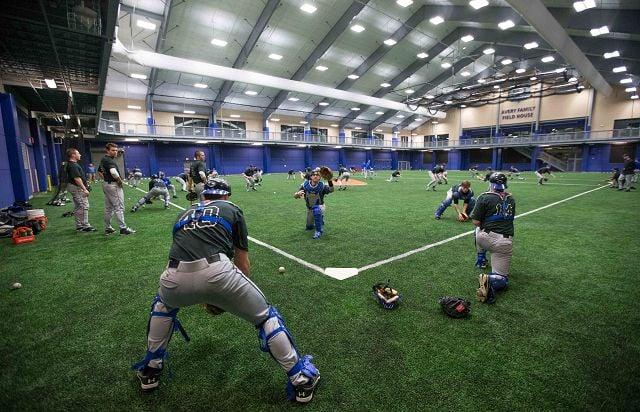 Jays unveil indoor home base