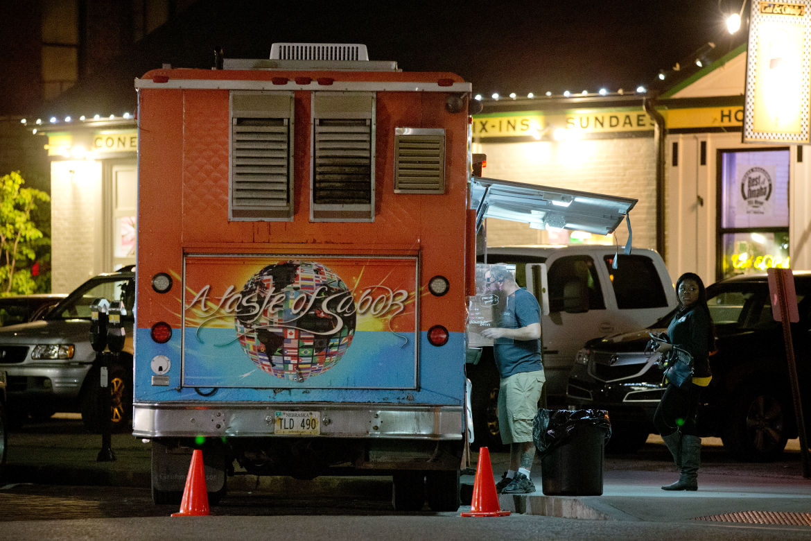 In Old Market, food trucks and restaurants are in a pickle ...