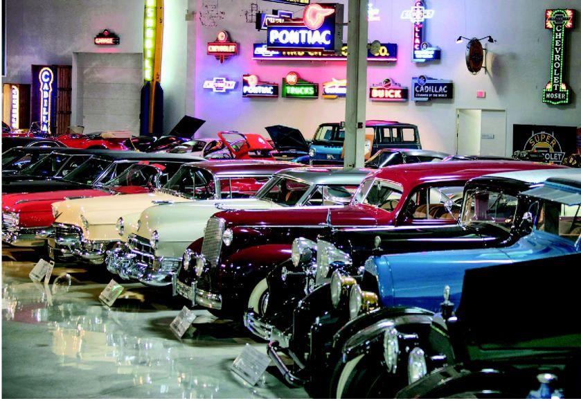 GMs Private Car Museum A Design Meca Articles Omahacom - Meca car show