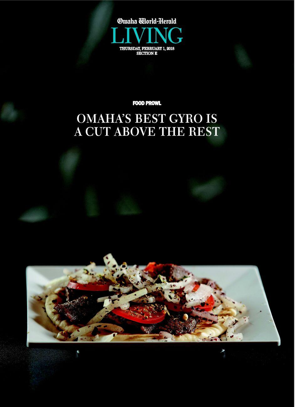OMAHA'S BEST GYRO IS A CUT ABOVE THE REST