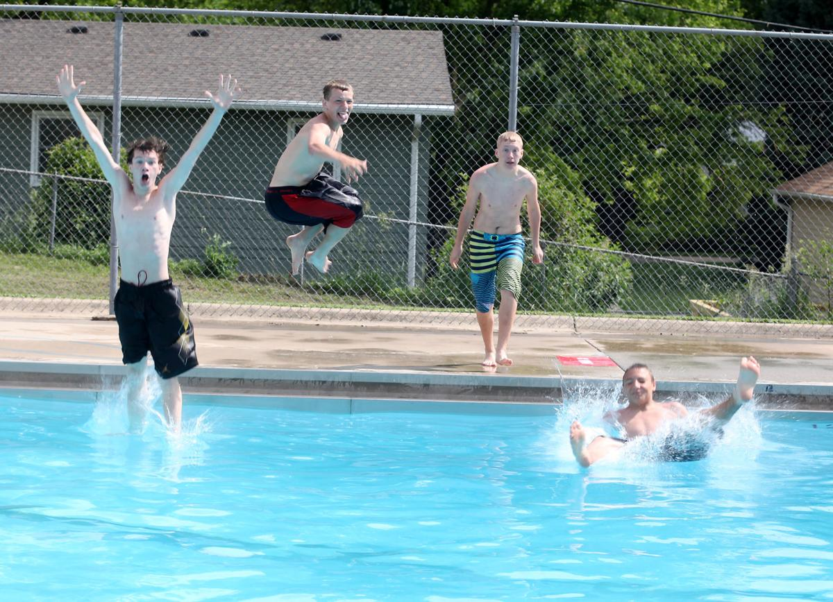 Pools open, three without diving boards | Bellevue Leader ...
