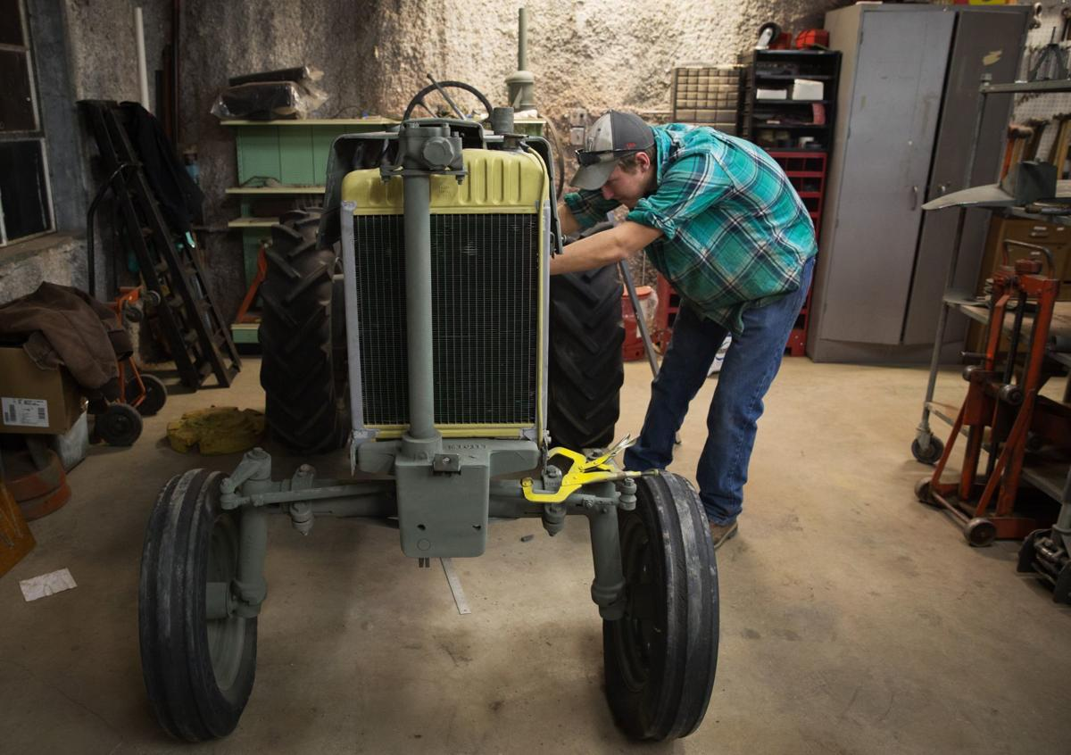 Students in UNL's Tractor Restoration Club help keep history alive