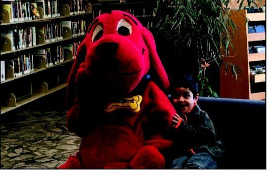 Special guest for the best doggone storytime