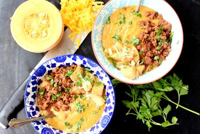 Chorizo Pumkin & Peanut Soup 1