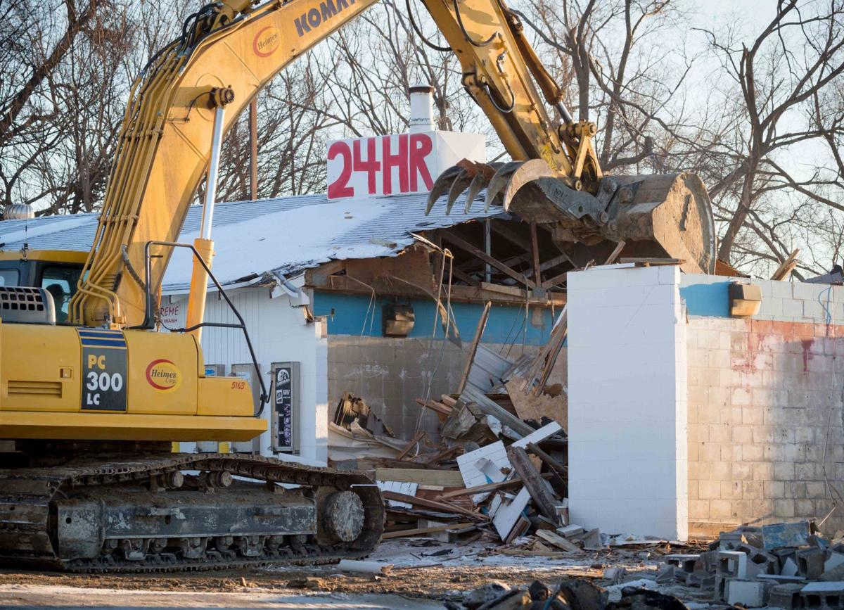 Car wash owned by bellevue councilman pat shannon is demolished a pat shannon car wash solutioingenieria Image collections