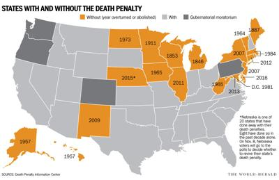 penalty in Nebraska: Periodic rise and fall of opposition ... on