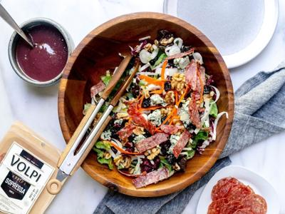 A winter salad surprise: Try dressing it with red wine